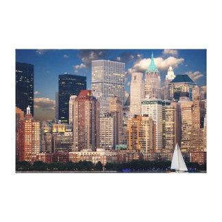 Manhattan Cityscape Canvas Print