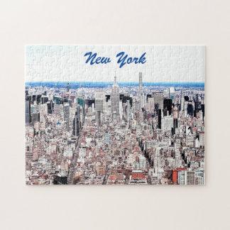 Manhattan Color Sketch Puzzle
