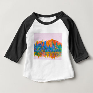 Manhattan Color Wave Baby T-Shirt