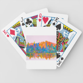 Manhattan Color Wave Bicycle Playing Cards