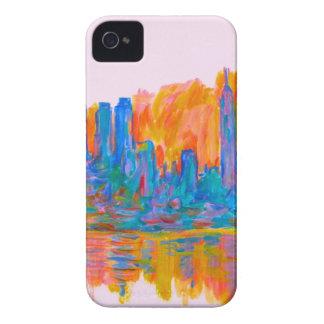 Manhattan Color Wave iPhone 4 Case-Mate Case