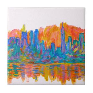 Manhattan Color Wave Tile