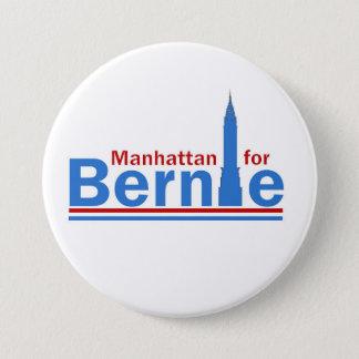 Manhattan for Bernie 3 Inch Round Button