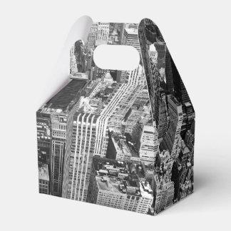Manhattan from Above Favor Box