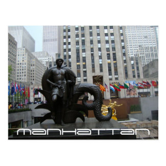Manhattan III Postcard