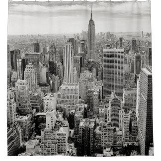 Manhattan, New York (black & white panorama)