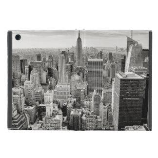 Manhattan, New York (black & white panorama) Covers For iPad Mini