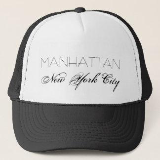 Manhattan New York City customizable Trucker Hat