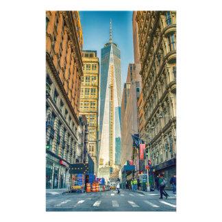 Manhattan New York New York City Stationery