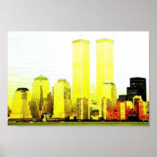 Manhattan-New York Poster