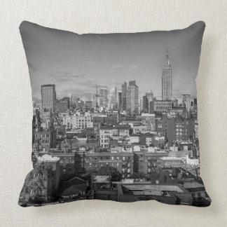 Manhattan NYC Throw Pillow