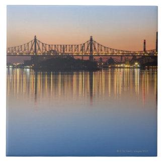 Manhattan Over the East River. Ceramic Tiles