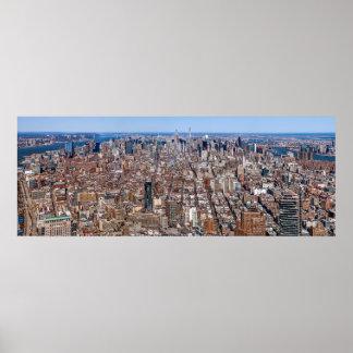 Manhattan Panorama Poster