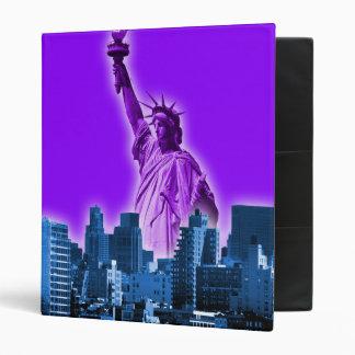 Manhattan - pourpre classeur vinyle