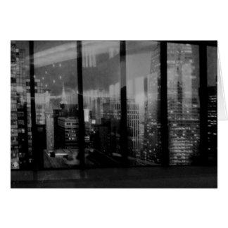 Manhattan Reflected Card