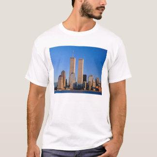 Manhattan Skyline and Hudson River, New York, 2 T-Shirt