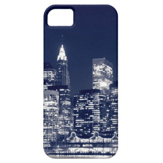 Manhattan Skyline At Night, New York City iPhone 5 Cover
