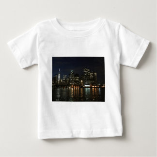 Manhattan Skyline Baby T-Shirt