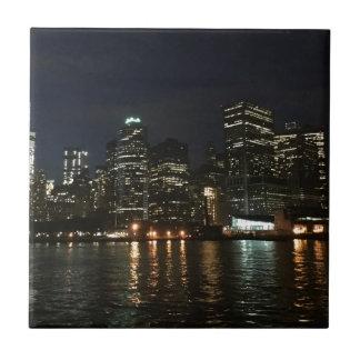Manhattan Skyline Ceramic Tile
