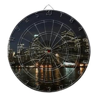 Manhattan Skyline Dart Board