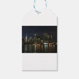 Manhattan Skyline Gift Tags