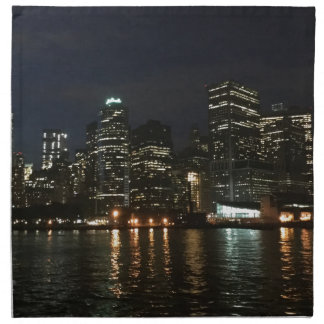 Manhattan Skyline Napkin