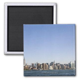 Manhattan Skyline, New York City, NY, USA Magnet