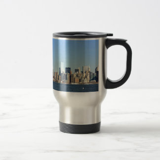 Manhattan Skyline New York City Travel Mug