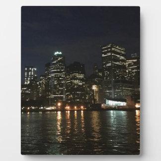 Manhattan Skyline Plaque
