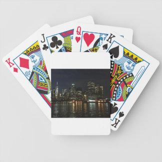 Manhattan Skyline Poker Deck