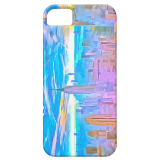 Manhattan Skyline Pop Art Case For The iPhone 5