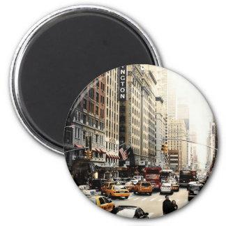 Manhattan Steetscape Magnet