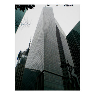 Manhattan Tower Poster
