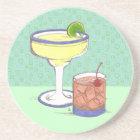 Manhattans & Margaritas   Customizable Coaster