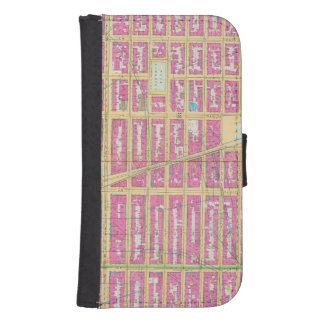Manhatten, New York 12 Galaxy S4 Wallet Case