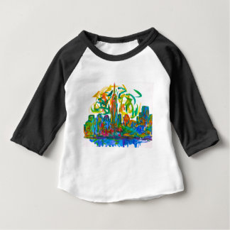 Manhatten Twirl Baby T-Shirt