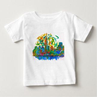 Manhatten Twirl Baby T-Shirt