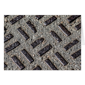 Manhole Cover Card