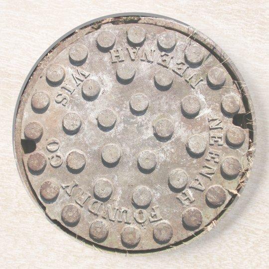 Manhole Cover Coaster