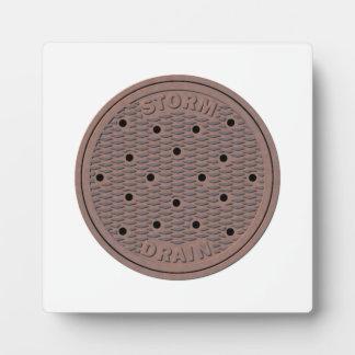 Manhole Cover Plaque