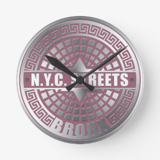 Manhole Covers Bronx Round Clock