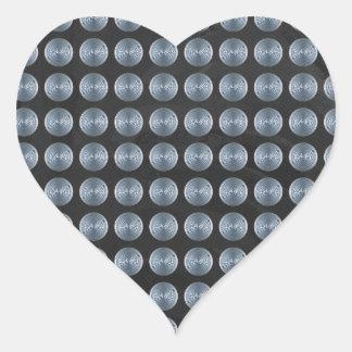 Manhole Covers NYC Heart Sticker