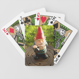 Manhole Gnome Bicycle Playing Cards