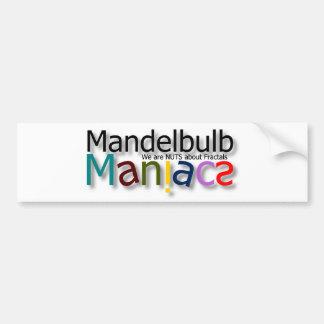Maniac Bumper Sticker