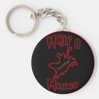 Maniacs Keychain