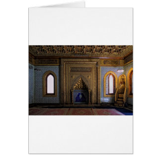Manial Palace Mosque Cairo Card