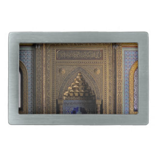 Manial Palace Mosque Cairo Rectangular Belt Buckles