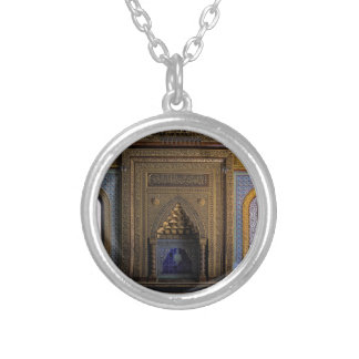 Manial Palace Mosque Cairo Silver Plated Necklace