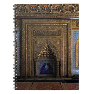 Manial Palace Mosque Cairo Spiral Note Book