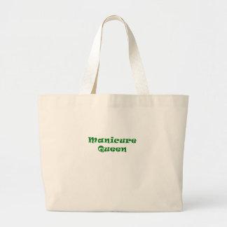 Manicure Queen Jumbo Tote Bag